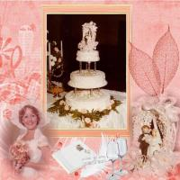 Our Daughters Cake early 1980s