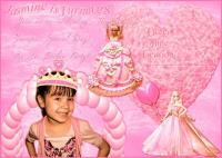 Jasmine Birthday Invitation~