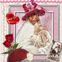 Beutiful Flower Hat