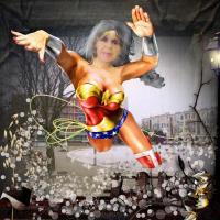 Super hero Janet