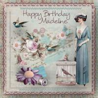 Happy Birthday Madeline