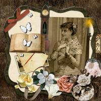 Young Vintage Lady