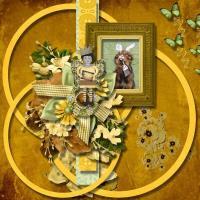Whimsical Frame Cluster precious