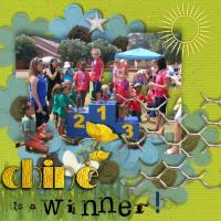 Chine is a winner!