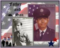 Memorial Day Father and Son