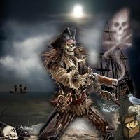Anne Stokes, the pirate