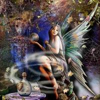 Anne Stokes-Magical Fairy