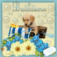 Puppy Bathtime!