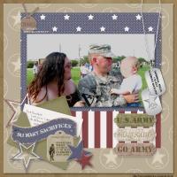 Proud To Serve: U.S. Army