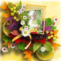 scrap a favorite kit  fruity freshness