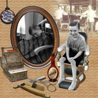 Old-Fashioned Barbershop