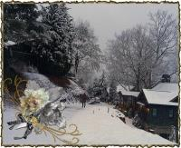 Winter in North Carolina Mountains