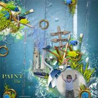 paint the sea