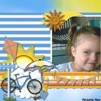Miranda with Bright Summer Days