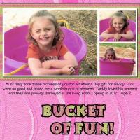 Cadence Bucket of Fun Sadie Girl