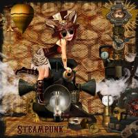 Steaming Up The Place~ Steampunk~