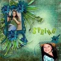 pretty as a spring flower