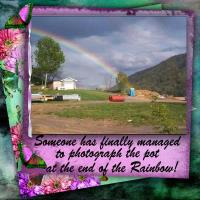 Pot At End-Rainbow
