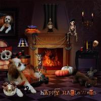Icon Challenge~Halloween Pet Scene~