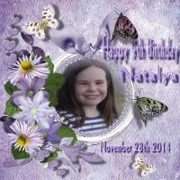 Happy Birthday Natalya
