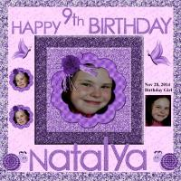 All That Glitters for Natalya's Birthday