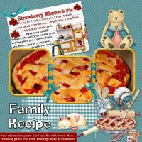Recipe for Strawberry Rhubarb Pie