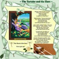 Nursery Rhyme The Tortoise and Hare