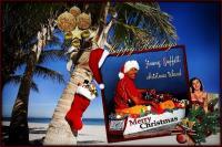 Christmas greetings from Christmas Island
