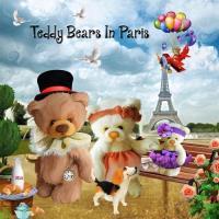 ~Teddy Bears In Paris~