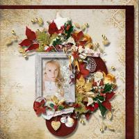 CREATE A CHRISTMAS FRAME season greetings