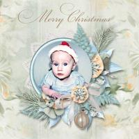 CREATE A CHRISTMAS FRAME TheMagicOfDecember