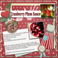 Recipe - Cranberry Plum Sauce