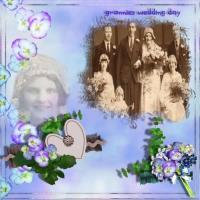 Grannies wedding day