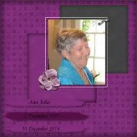 Ann John 1945 - 2014
