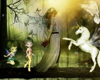 Fairy and the Unicorn