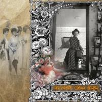 1st Selfie?  1900 Victorian Lady