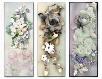Soft Floral Bookmarks