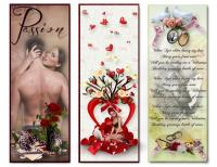 Romantic Bookmarks