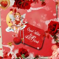 Cupid Wishes Friends