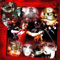 The Masquerade Ball at the Old Mansion