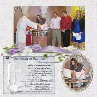 The Twins' Baptism