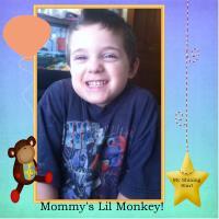 Mommy's Lil Monkey