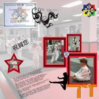 TKD Orange Belt Test