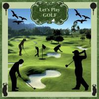Golf Silhouettes!