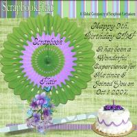 SBF 9th. Birthday