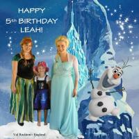 LEAH'S 5TH BIRTHDAY