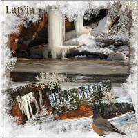 Latvia in winter