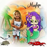 Maylyn little mermaid