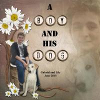 20150608 A Boy and His Dog