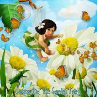 Daisies And The Garden Fairy
